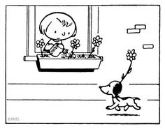 #Snoopy made his first appearance October 4th 1950! #Peanuts #History