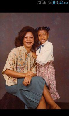 Taraji P. Henson And her Mom