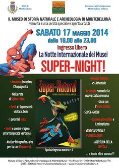 Super-Night. La Notte dei Musei al Museo di Montebelluna #ndm14 #ndm14italia #treviso