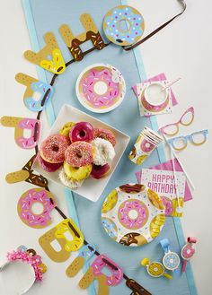 New doughnut party range from Party Pieces!