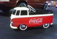 Vintage VW Pedal Single Cab. Hope you'll check out my four other Coca Cola boards. Anthony Contorno Sr