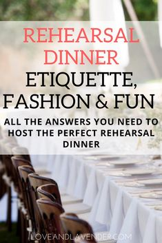 we take a look at rehearsal dinner etiquette, and we're throwing in some super hot fashion picks too! day dinner outfits Guide to Rehearsal Dinner Etiquette, Fashion & Fun Rehearsal Dinner Etiquette, Rehearsal Dinner Decorations, Rehearsal Dinner Dresses, Rehearsal Dinner Invitations, Rehearsal Dinners, Reception Dresses, Ideas For Rehearsal Dinner, Rehearsal Dinner Activities, Rehearsal Dinner Toasts