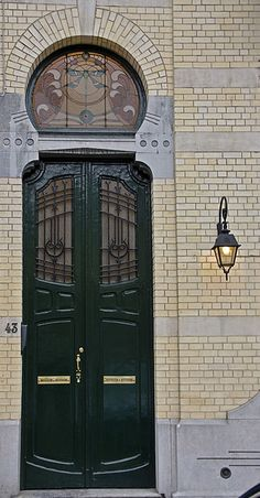 Avenue Adolphe Demeur 43 by Ixtup, via Flickr~ Brussels