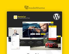 Rentacar - Car Rental / Listing WordPress ThemeWant to create and incredible Multi-Concept Car Rental WordPress Theme website? Choose the ONE completely versatile theme you can use to create the website you need. Construction Theme, Rental Listings, Jobs Apps, Website Themes, Car Rental, Wordpress Theme, New Work, Behance, The Incredibles