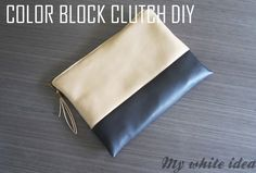 DIY CELINE CLUTCH | MY WHITE IDEA DIY