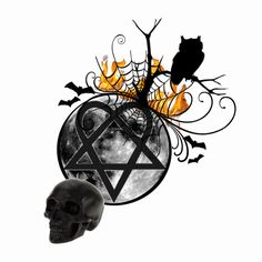 """""""All Hallow's Heartagram"""" by angelinglass ❤ liked on Polyvore"""