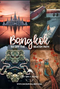 Want to get off the beaten path in Bangkok? On this guide, we share five hidden gems in Bangkok that are also some of the best photo spots in Thailand for your Instagram! #Thailand #Bangkok #Asia