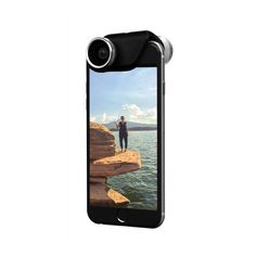 """<p>Cost: $79.99 </p><p>Stellar photography is important for many travelers, but regular smartphone photos don't always deliver. If your traveler values quality images but doesn't want to buy an expensive camera, give them an <a rel=""""nofollow"""" href=""""https://www.olloclip.com/shop/lenses/iphone6-4-in-1/ """">Olloclip lens</a>. This small accessory clips onto your phone and provides 4 different lens options from fisheye and wide-angle to macro zoom. Even better, the lenses work on both sides of…"""
