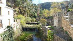 Igualeja. Nacimiento del Rio Genal. Valle del Genal. Serranía de Ronda.