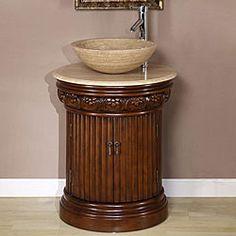 Silkroad Exclusive Bellevue 24-inch Vessel Sink Bathroom Vanity | Overstock™ Shopping - Great Deals on Silkroad Exclusive Bathroom Vanities