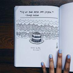 🎂? #stealjournal Artist Journal, Writing, Instagram Posts, Being A Writer, Letter