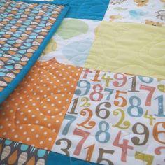 Ollie's Quilt #buttonandlou #babyquilt #homemade #babygift #jungleanimals…