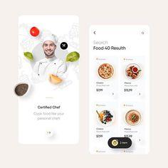 mobile ui/ux inspiration в Instagram: «Food delivery app by @mehmetozsoyart @fireart_studio 👏🏻   🦄 follow @uiuxmobile for daily inspiration 🦄 follow @uiuxmobile for daily…» Ux Design, Best App Design, Motion App, Start Screen, Delivery App, Delivery Food, App Design Inspiration, Daily Inspiration, Design Web