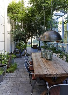 Provide Your House a Transformation with New House Design – Outdoor Patio Decor Outdoor Areas, Outdoor Rooms, Outdoor Tables, Outdoor Dining Furniture, Porch Furniture, Outdoor Fire, Patio Dining, Outdoor Table Decor, Dining Rooms