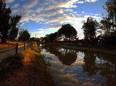 Madrugué para correr y me encontré este bello amanecer. #diariodeuninstagramer