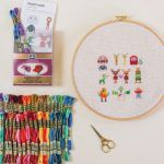 Playspace-Friendly Cross Stitch Pattern (and it doesn't beep, meep, or require batteries...)