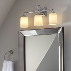 "Birch Lane Beacon 3-Bulb Vanity Light 21""w $179"