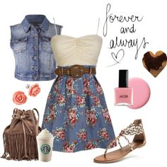 """Forever and Always <3"" by beachygurl27 on Polyvore"