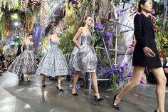 Le défilé Dior prêt-à-porter printemps-été 2014