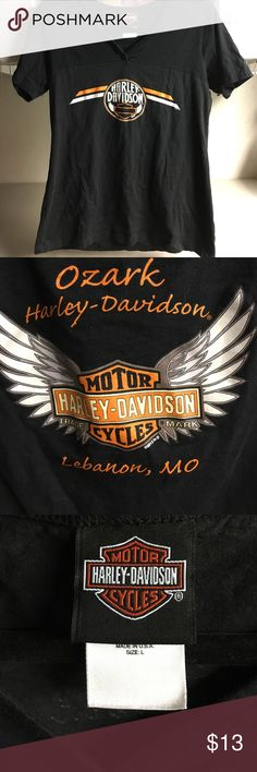 Harley Davidson women's shirt Large Lebanon MO In excellent condition. Women's size Large Harley-Davidson Tops Tees - Short Sleeve