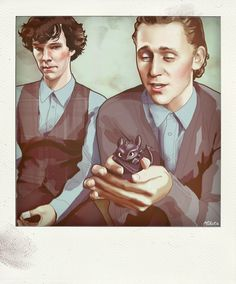 This makes absolutely no sense... but ...it's Ben, Tom, and Toothless in one photo. How much more awesome can it get?!