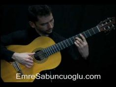 Turkish-born classical guitarist Emre Sabuncuoğlu--a class act on and off the performing stage.