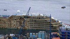 Addio alla Costa Concordia. Oggi l'ultimo viaggio