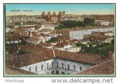 Ferrara 1947-panorama- - Delcampe.it