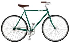 NEW! The Roadster Classic's clean lines are now available in Bottle Green!