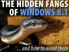 Before you install Windows 8.1, make sure you understand the gotchas and how not to get bit