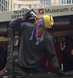 A typical day in the life of Gronk ...