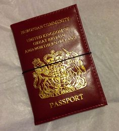 My Life All in One Place: Traveler's notebook from a passport cover