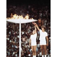 Olympic Cauldron - Montreal, Quebec Canada  - 1976 Summer Olympic Games