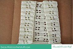 Crochet Halter Top Stripes