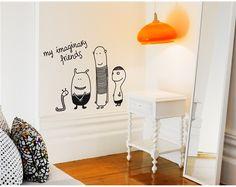 Bumoon SpaceChildren's Wall Sticker - Full range at Nubie | Nubie - Modern Baby Boutique