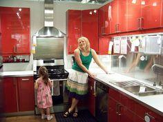 2008 IKEA dream kitchen red