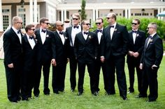 Groommens in tuxedos | Timeless Black Tie at The Denver Country Club | COUTUREcolorado WEDDING: colorado wedding blog + resource guide