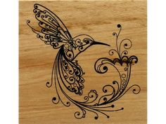 Inkadinkado has some of the best wood stamp designs for your cards, invitations, scrapbooking or home decor projects. Hummingbird design has a filigree hummingbird image. Stamp is mounted to a wood block. Stamped image measures approximately 2 x 2 inch. Wood Burning Stencils, Wood Burning Crafts, Wood Burning Patterns, Wood Burning Art, Wood Crafts, Wood Burning Projects, Wood Projects, Pyrography Designs, Pyrography Patterns