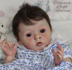 Tamara Leigh Reborns Tamara Auty Tiffany Natali Blick Reborn Baby Girl Fake Baby Doll