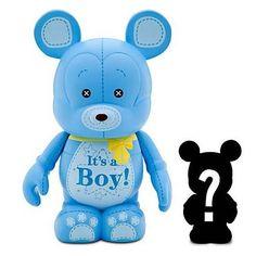 "Disney 3"" Vinylmation - Celebrations Series - It's a Boy Figure with Mystery Jr. Figure Vinylmation"
