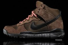 Reporting for outdoor duty, the Nike Dunk High OMS