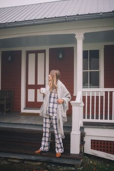 Gal Meets Glam Misty Morning In Vermont - Pajamas, Nordstrom