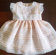 Infant Dresses, Baby Dresses, Little Girl Dresses, Little Girls, Girls Dresses, Flower Girl Dresses, Wedding Dresses, New Outfits, Girl Outfits