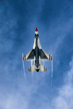 """toocatsoriginals:"""" Thunderbird Six"""" Airplane Fighter, Fighter Aircraft, Fighter Jets, Military Jets, Military Aircraft, Blue Angels Air Show, Photo Avion, F 16 Falcon, Thunderbirds Are Go"""