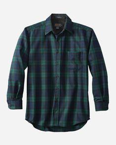 YUNY Men Flannel Single Breasted Plus Size Stylish No-Iron Dress Shirt Navy Blue M