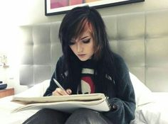 Hi Im Leda 17 Im shy and artistic kinda odd I dont really talk not like my foster parents the Coil's