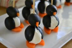 Such a cute little snack for kids!  The view from Great Island: It's 5 O'Clock Somewhere Friday: Party Animals