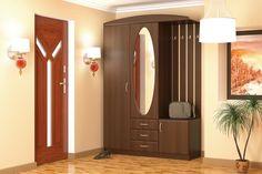 Szín:Dió Anyag: LMDP (laminált) Méret: szélesség x magasság x mélység 150 cm x 210 cm x 52 cm Armoire, Tall Cabinet Storage, Entryway, Furniture, Home Decor, Clothes Stand, Entrance, Decoration Home, Closet