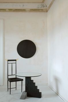 Wild Minimalism by Rooms is a collection of seven handcrafted sculpture pieces, which debuted during Milan Design Week 2016 at Sapazio Rossana Orlandi. Black Furniture, Design Furniture, Cool Furniture, Modern Furniture, Luxury Furniture, Modern Decor, Japanese Interior Design, Home Interior Design, Interior Architecture