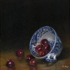 .LIFE IS JUST A BOWL OF CHERRIES-FILLED TO THE BRIM 1 MIN, & SPILLED ALL OVER THE FLOOR THE NEXT.